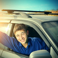 Teenager in a Car - PhotoDune Item for Sale