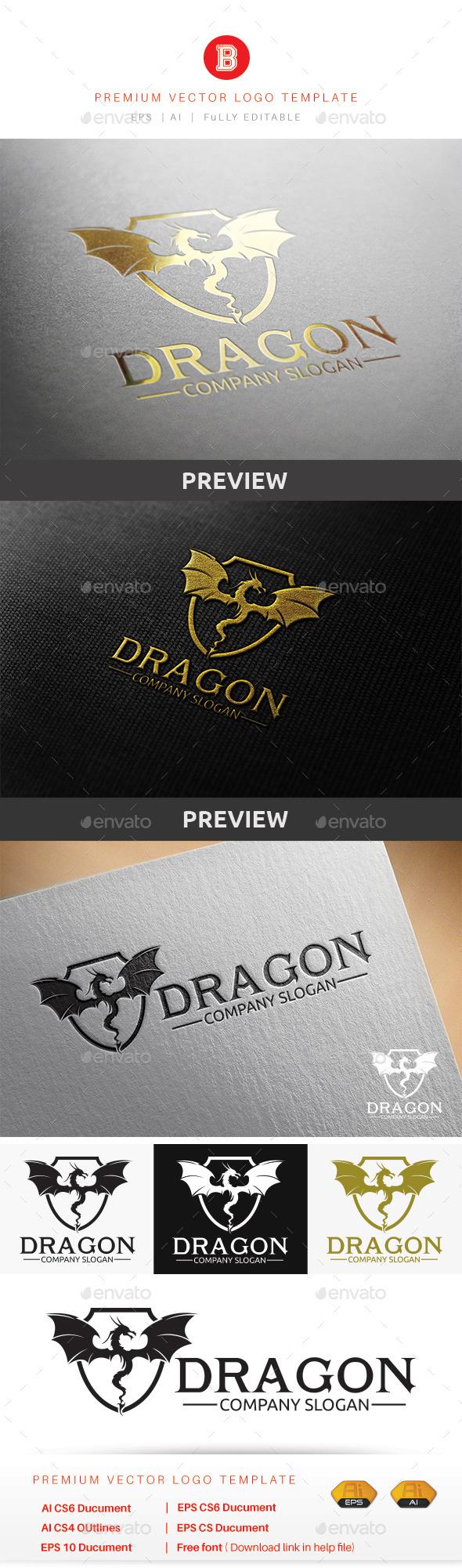 GraphicRiver Dragon V.1 9282646
