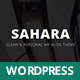 Sahara - Personal WordPress Blog Theme