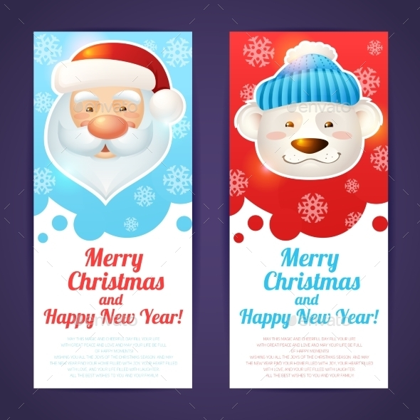 GraphicRiver Vertical Christmas Banner 9283393