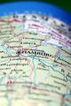 Hamburg City On Map - PhotoDune Item for Sale