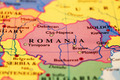 Romania on map - PhotoDune Item for Sale