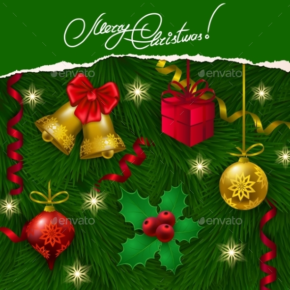 GraphicRiver Christmas Background 9283821