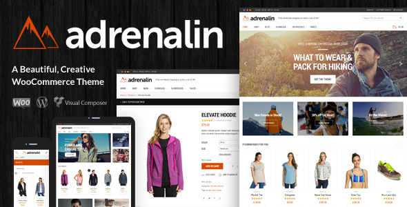 ThemeForest Adrenalin Multi-Purpose WooCommerce Theme 9284771