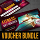 3 in 1 Sport Activity Gift Voucher Bundle 02 - GraphicRiver Item for Sale