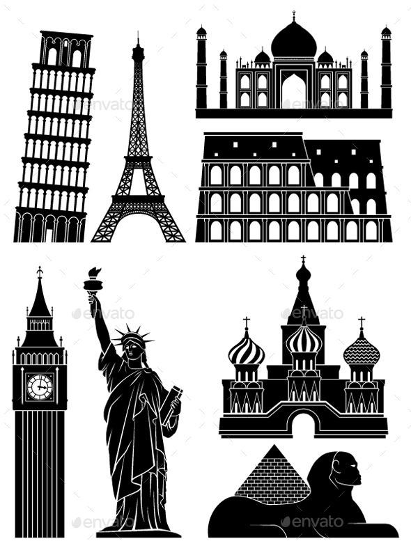 GraphicRiver Landmarks 9284811