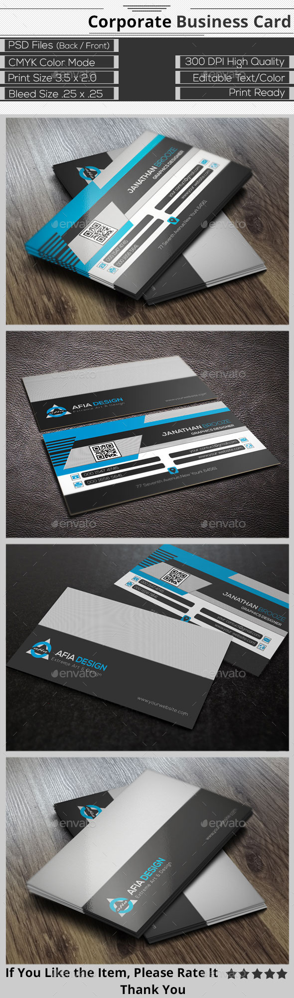 GraphicRiver Smart Creative Corporate Business Card 9285890