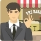 Man Advertises Bakery - GraphicRiver Item for Sale