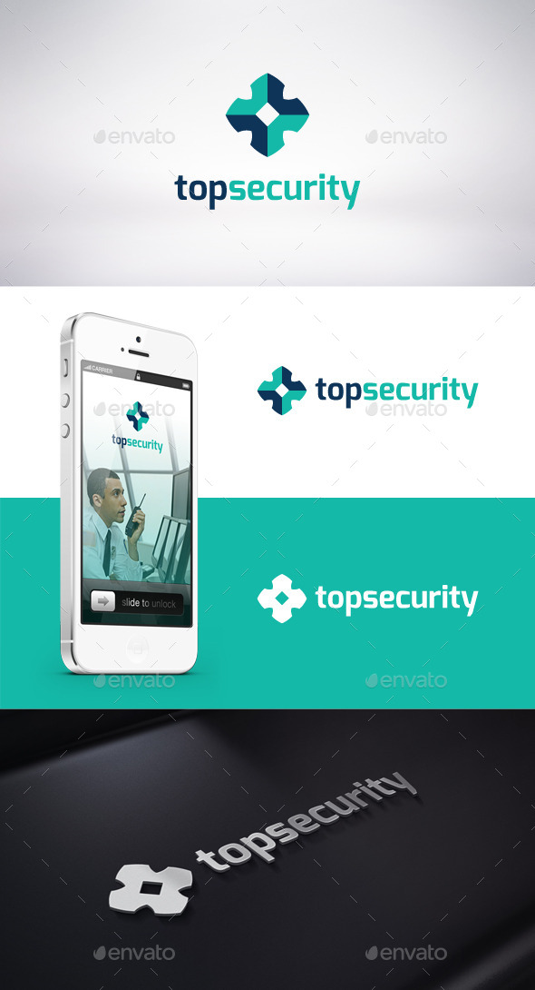 GraphicRiver Top Security Logo Template 9273308
