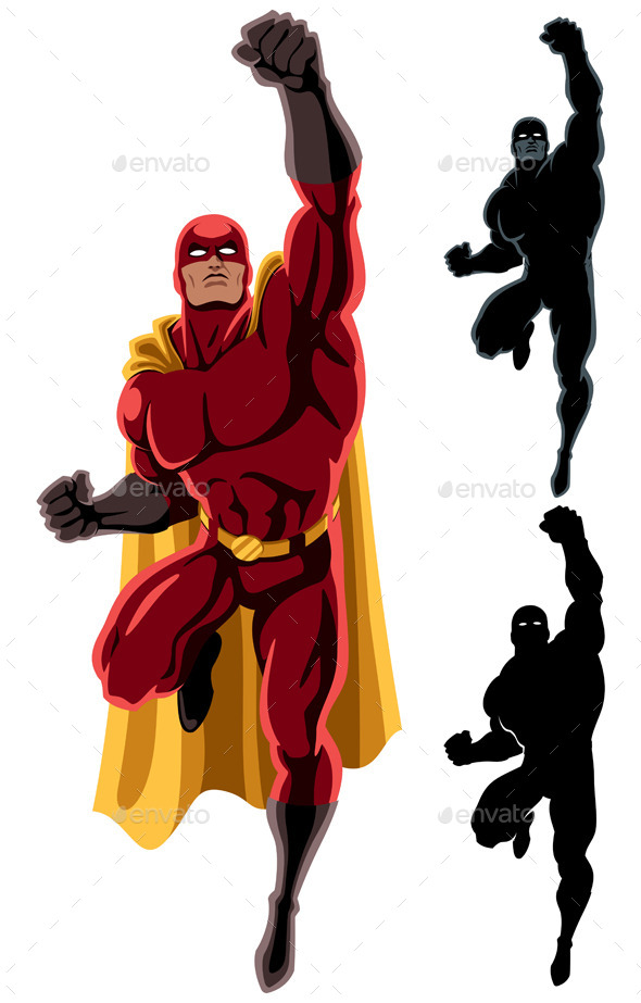 Superhero With Yellow Hat And White Beard » Tinkytyler.org  Stock