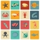 Seafood Icons Set - GraphicRiver Item for Sale