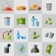 Garbage Icons - GraphicRiver Item for Sale