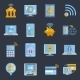 Mobile Banking Icons - GraphicRiver Item for Sale