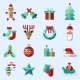 Christmas Icons Set Colored - GraphicRiver Item for Sale