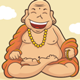 Happy Monk - GraphicRiver Item for Sale