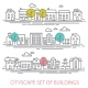 Cityscape Set - GraphicRiver Item for Sale