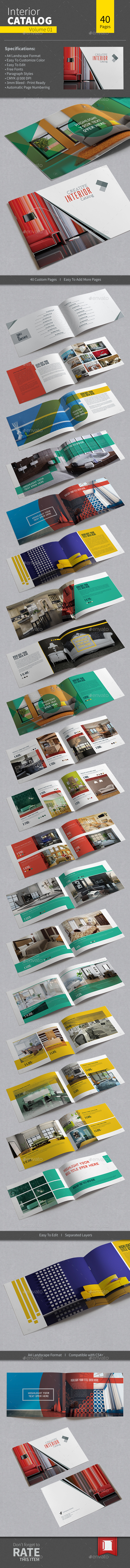 GraphicRiver Interior Catalog Volume 01 9288087