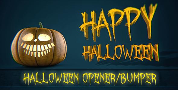 Halloween Pumpkin Bumper Opener