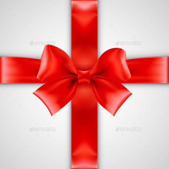 GraphicRiver Red Bow 9288360
