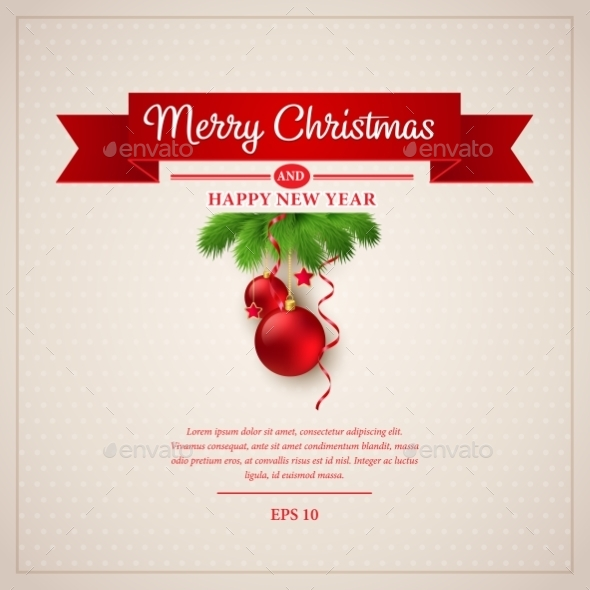 GraphicRiver Christmas Greeting Card 9288422