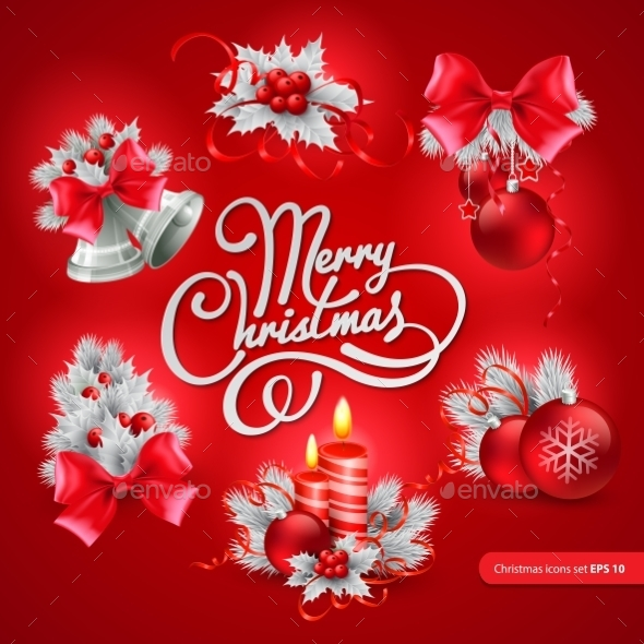 GraphicRiver Christmas Greeting Card Vector Illustration 9288427