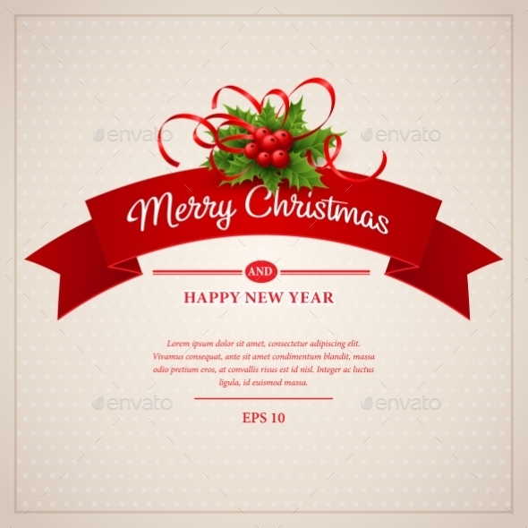 GraphicRiver Christmas Greeting Card 9288561