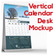 Vertical Calendar Desk Mockup - GraphicRiver Item for Sale