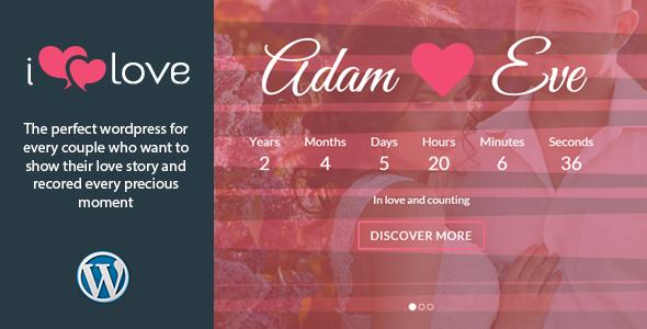 ilove - Responsive Wedding Event WordPress Theme