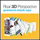 4 Real 3D Perspective Mock-Ups Phone 6 Edition (II) - GraphicRiver Item for Sale