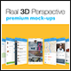 4 Real 3D Perspective Mock-Ups Phone 6 Edition (I) - GraphicRiver Item for Sale