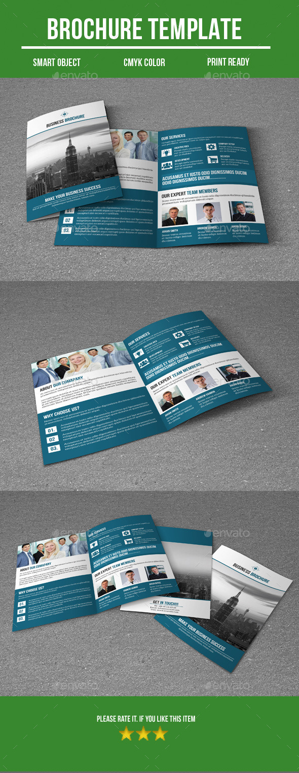 GraphicRiver Bi Fold Business Brochure 9289315
