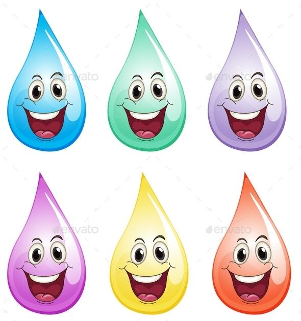 GraphicRiver Water Drops 9289964