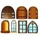 Doors and Windows - GraphicRiver Item for Sale