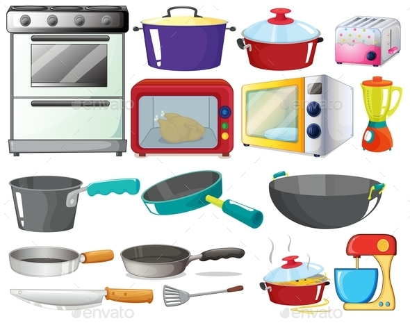 GraphicRiver Kitchen Set 9290058