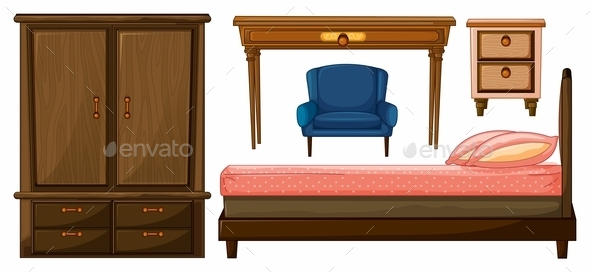 GraphicRiver Bedroom Furniture 9290167