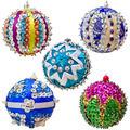 Set of five homemade Christmas ball - PhotoDune Item for Sale
