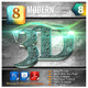 8 Modern 3D Exclusive Edition Vol.8 - GraphicRiver Item for Sale