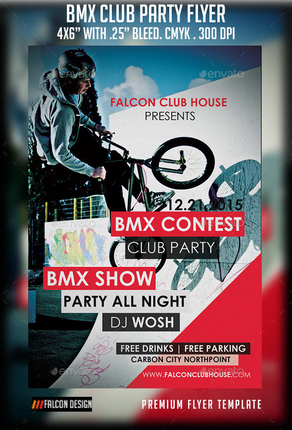GraphicRiver BMX Club Party 9249614