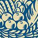 Crop Harvest Basket Retro - GraphicRiver Item for Sale