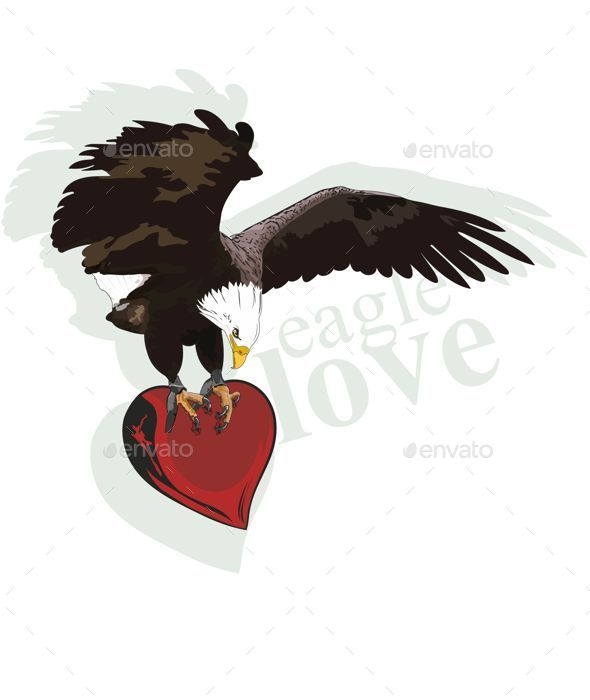 GraphicRiver Eagle Heart 9290692