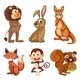Animals in the Jungle - GraphicRiver Item for Sale