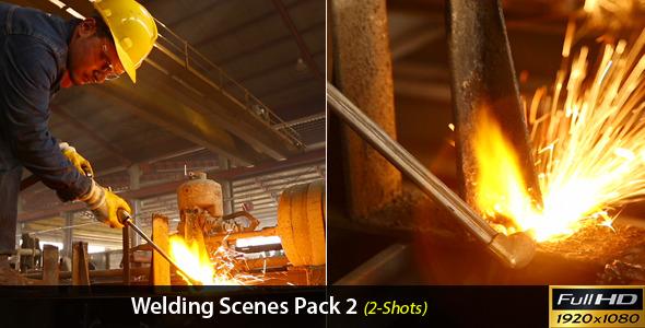 Welding Scenes Pack 2