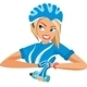 Cyclist Woman - GraphicRiver Item for Sale