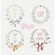Hand Drawn Set of Wedding Wreaths and Ribbons - GraphicRiver Item for Sale