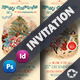 Christmas Invitation Card Templates - GraphicRiver Item for Sale