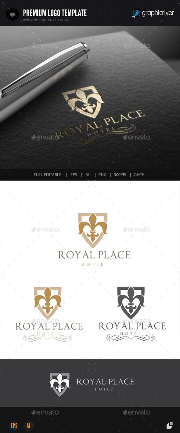 GraphicRiver Hotel Logo V1 9290940