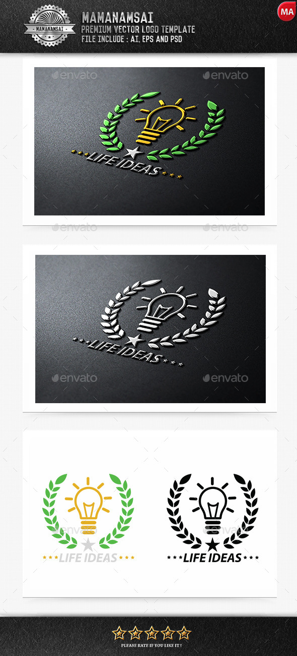 GraphicRiver Life Idea Logo 9290952
