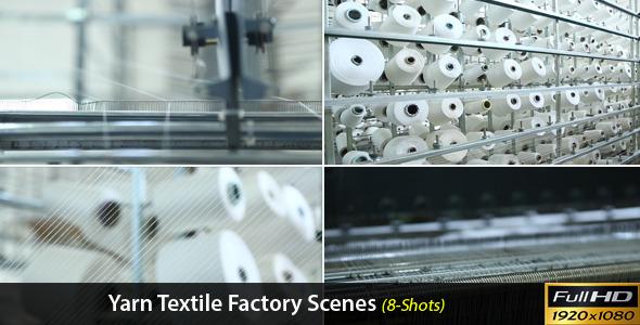 Yarn Textile Factory Scenes