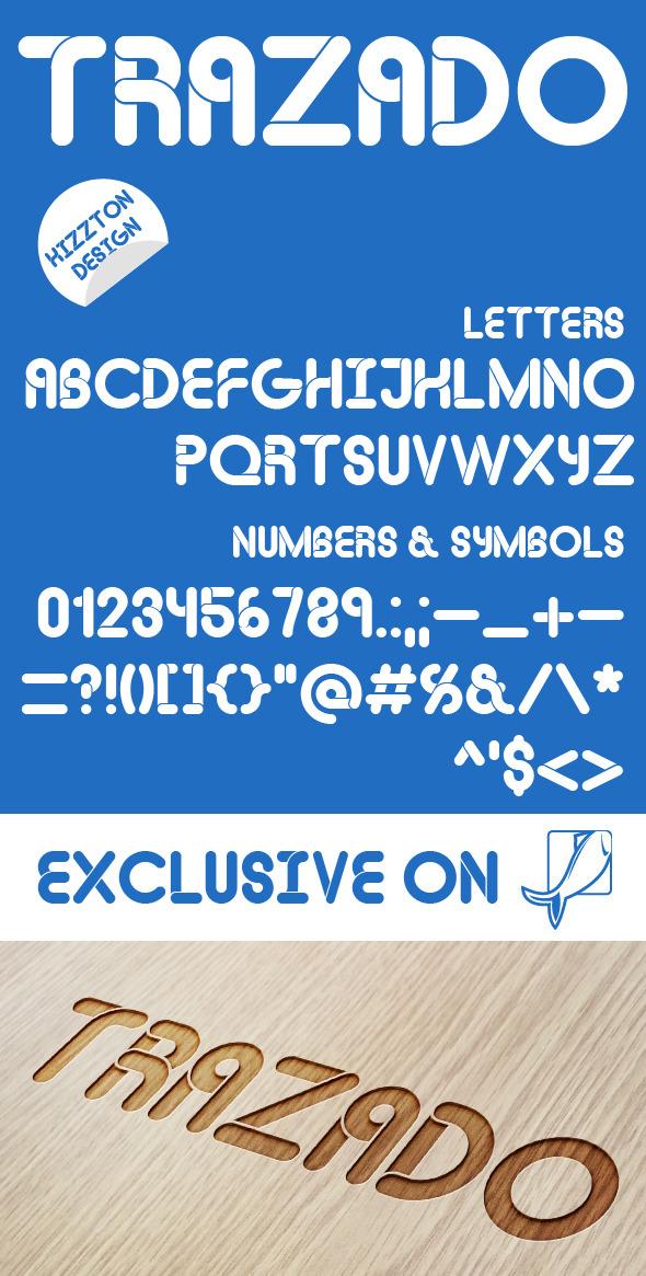 GraphicRiver Trazado Premium Font 9291076