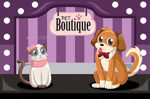 GraphicRiver Pet Boutique 9291081